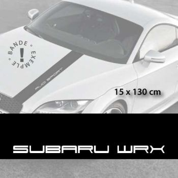 Stickers bandes autocollantes Capot Subaru WRX