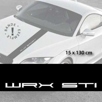 Stickers bandes autocollantes Capot Subaru WRX STI