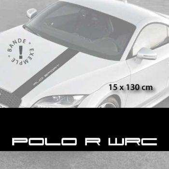 Sticker für die Motorhaube Volkswagen Polo R WRC