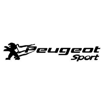 Peugeot Sport logo decal