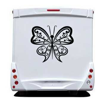 Design Butterfly Camping Car Decal
