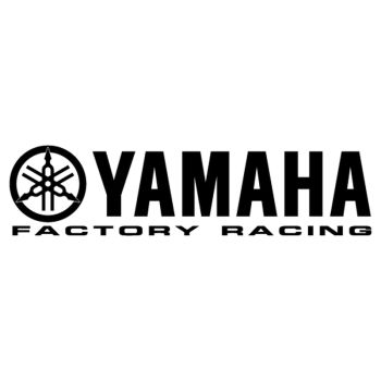 Yamaha Factory Racing logo decal