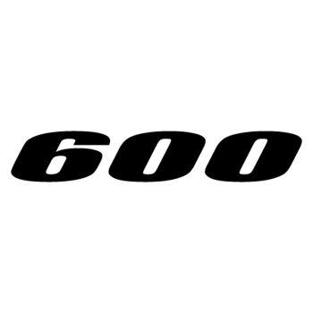 Sticker Suzuki 600 Logo