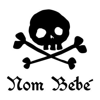 Skull Baby on board car custom decal