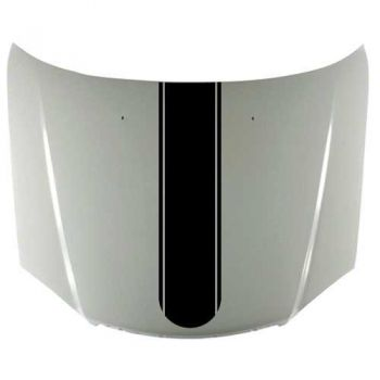 Car rounded stripe with Edging decal