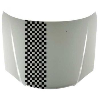 Checkered Car stripe decal