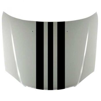 Kit Sticker Bande Capot Style Porsche Design (38 x 120 cm)