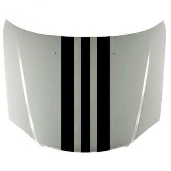 Kit Sticker Bande Capot Porsche Design (38 x 140 cm)