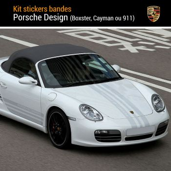 Kit Stickers Bandes Porsche Design Complet