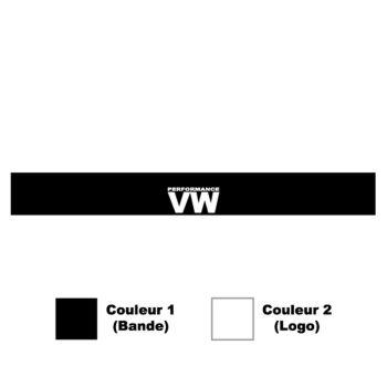 Sticker Bande Sonnenblende Volkswagen VW Performance