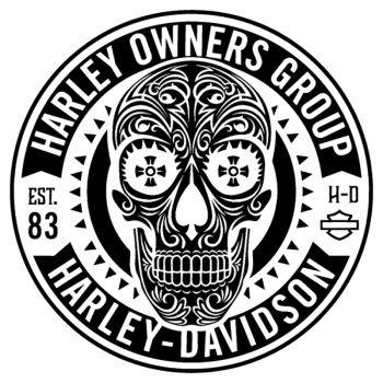 Harley-Davidson Own Group Est. 83 decal