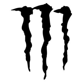 Sticker Monster Energy Griffes