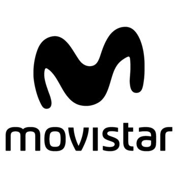 Movistar logo Decal