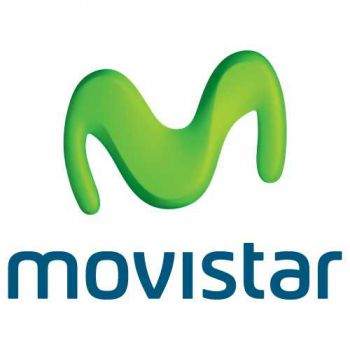 Sticker MoviStar Logo Couleur (12 cm)