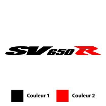 Sticker Suzuki SV 650 R Logo D