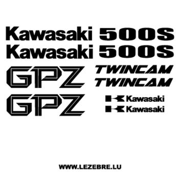 Kawasaki GPZ 500 S decals set