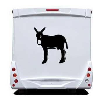 Catalan donkey Burro Camping Car Decal