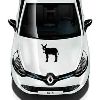 Catalan donkey Burro Renault Decal