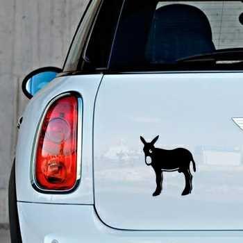 Sticker mini Esel Catalan Burro