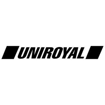 Sticker Uniroyal Tires Logo