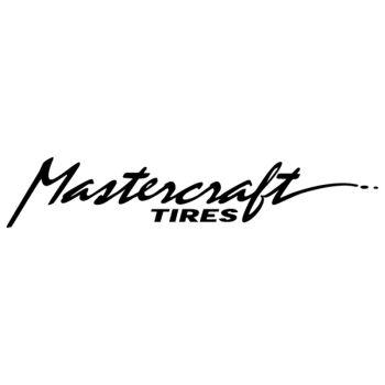 Sticker Mastercraft Tires Logo