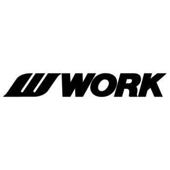 Work Rim Logo Decal