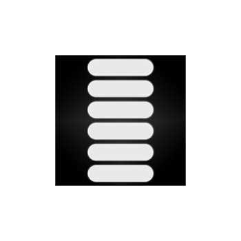 Kit Stickers Bandes Réfléchissantes pour Casque de Moto