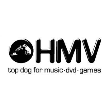 T-Shirt rock music label HMV