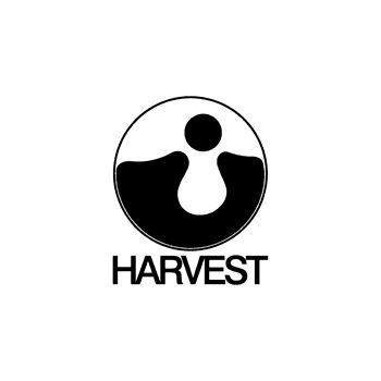 T-Shirt rock music label Harvest