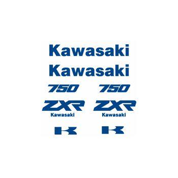 Kit Sticker Kawasaki Z 750