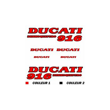 Kit Sticker Ducati 916 Desmoquattro