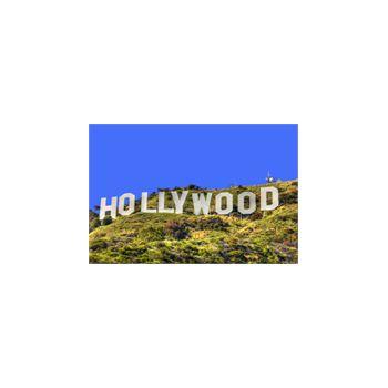 Sticker Déco Hollywood Californie