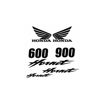 Honda Hornet 600 et 900 Decals set