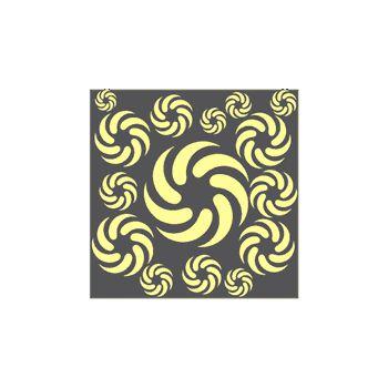 Sticker Dekoration Sun Flower