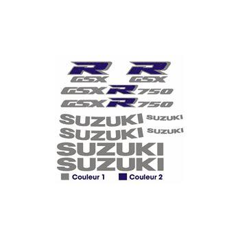 Kit Sticker Suzuki GSX R 750