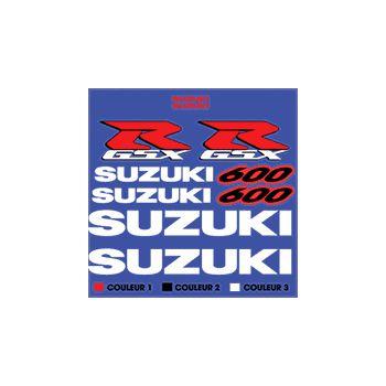Kit Sticker Suzuki GSX 600