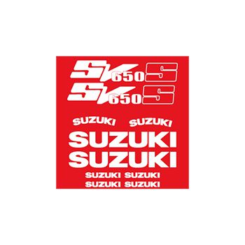 Suzuki SV 650 S decals set