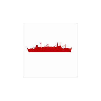 > Sticker Navire de Guerre Bateau 3