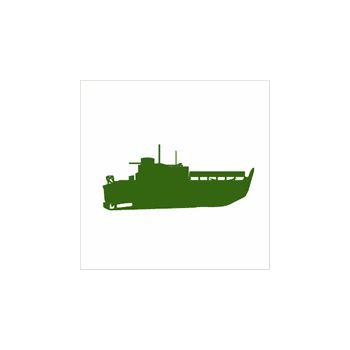 > Sticker Navire de Guerre Bateau 5