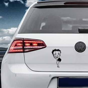 Betty Boop Volkswagen MK Golf Decal 1