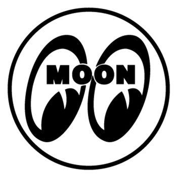 Sticker Moon Racing