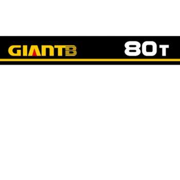 Sticker GiantB 80t