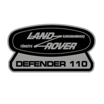 Sticker Landrover Defender 110
