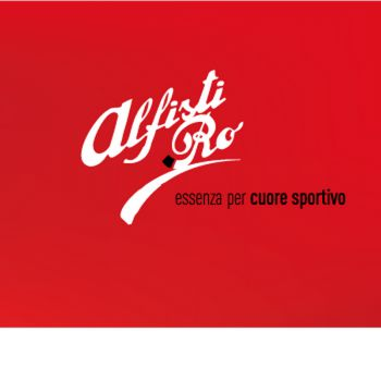Sticker Logo Alfisti Punt RO