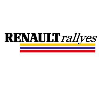 Sticker Renault Rallyes