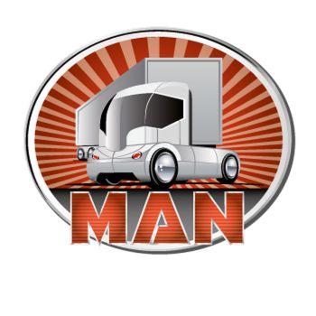 Sticker Logo MAN