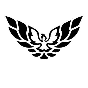 Pontiac TransAm Firebird Logo Decal