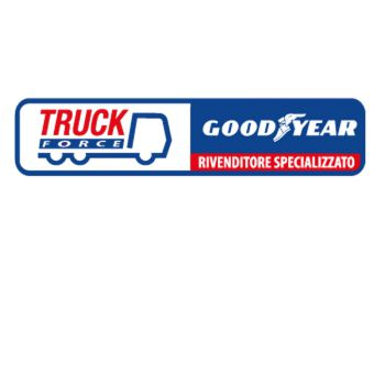 Truck Force Good Year Decal