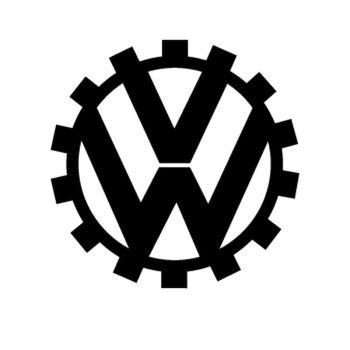 Sticker VW logo ancien 2
