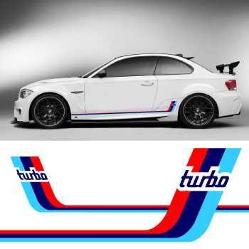Kit Bandes Stickers Bas de Caisse BMW M Series Turbo